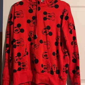 Mickey Mouse sweater!